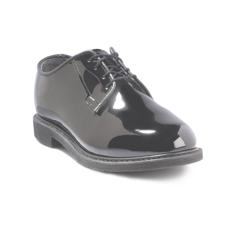Bates 752 Womens Leather DuraShocks Oxford Shoe 13 E US Black