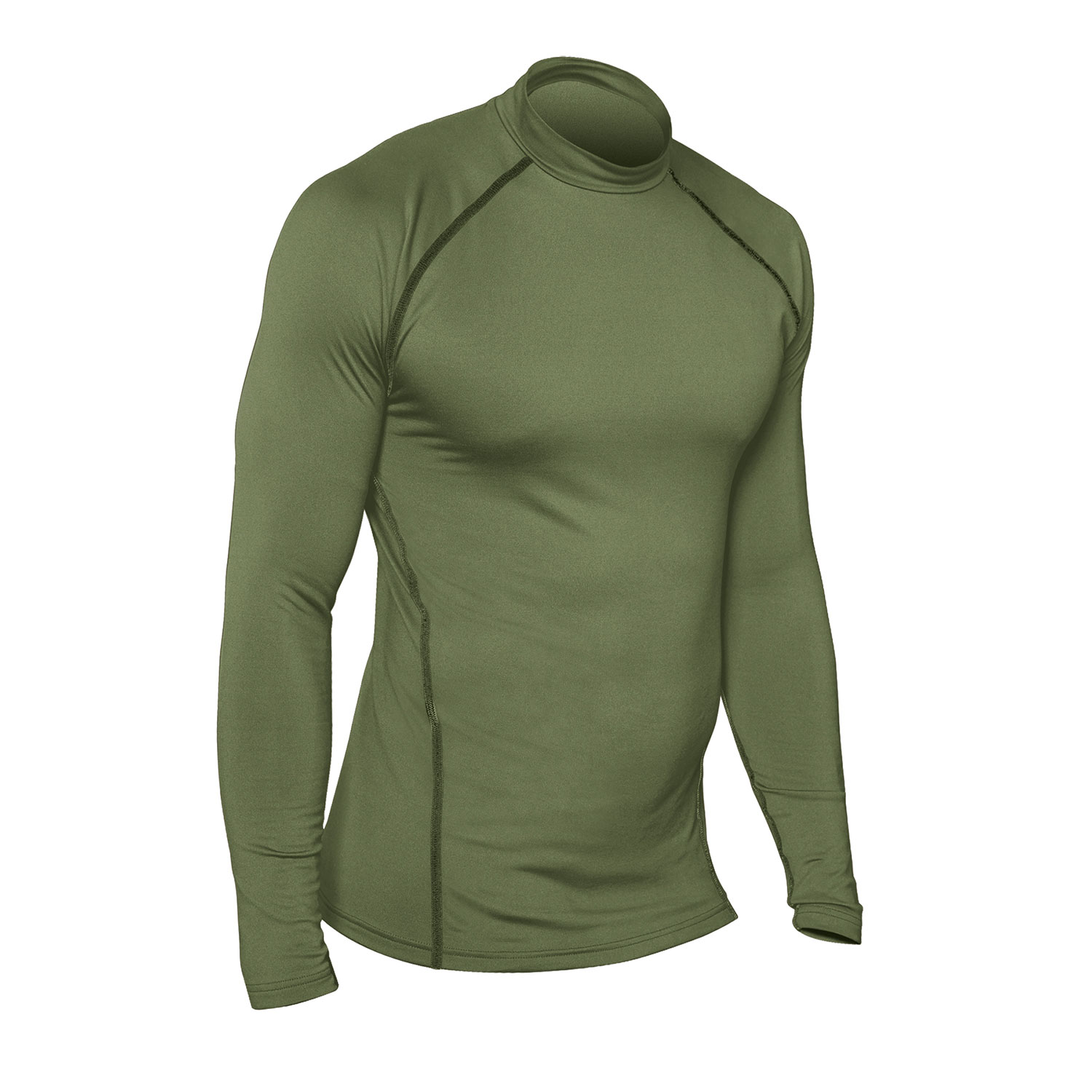 573082236 Champion Tactical Competitor Double Dry Long Sleeve Mock Tee